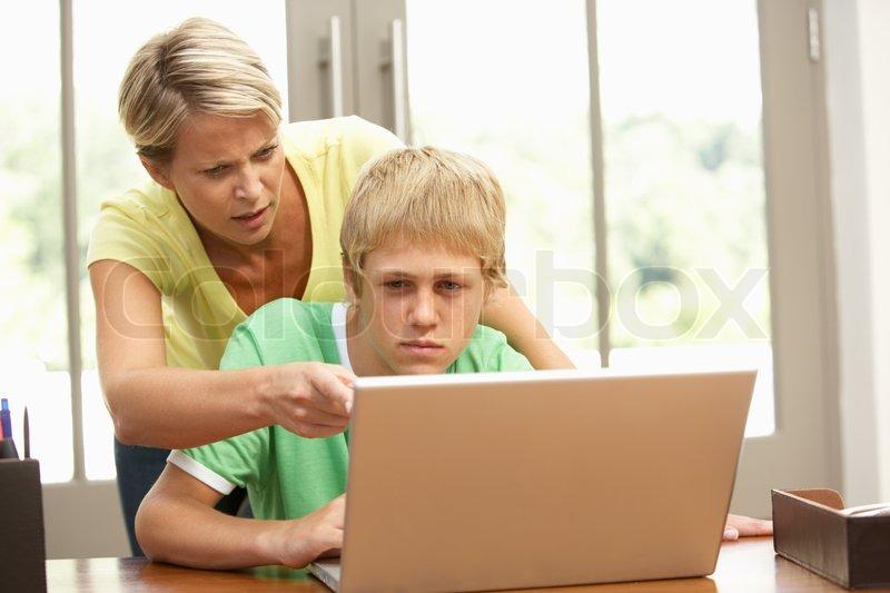 angry teenage son - photo #1