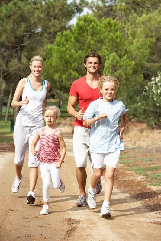 Image result for image of family running
