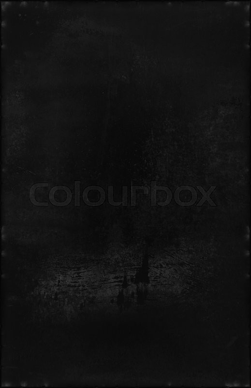 Stock image of 'An extra dark sheet of metal as a background'