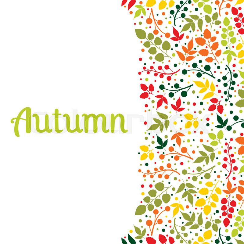 Autumn Falling Leaves Background Can Be Used For Wallpaper Design Of Invitation Card Web Page Background For Cover Notebook Diary For Fashion Design For Design Of Utensils Etc Vector 12733098 on Autumn Word Search