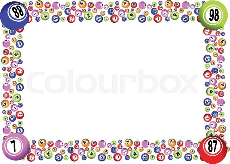 BINGO FRAME | Stock Vector | Colourbox