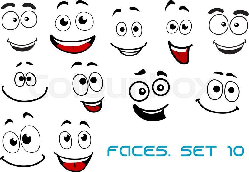 Happy Cartoon Faces | www.pixshark.com - Images Galleries ...