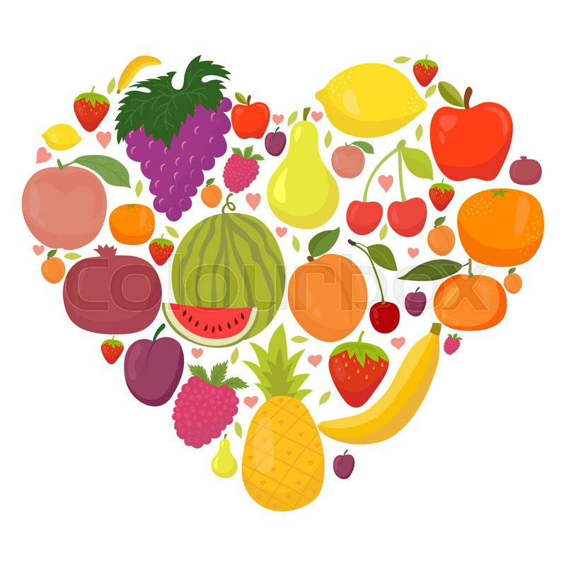 healthy fruits for heart fruits that are green