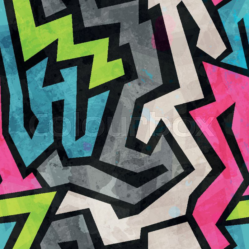 graffiti kriminalit t hand vektorgrafik colourbox. Black Bedroom Furniture Sets. Home Design Ideas
