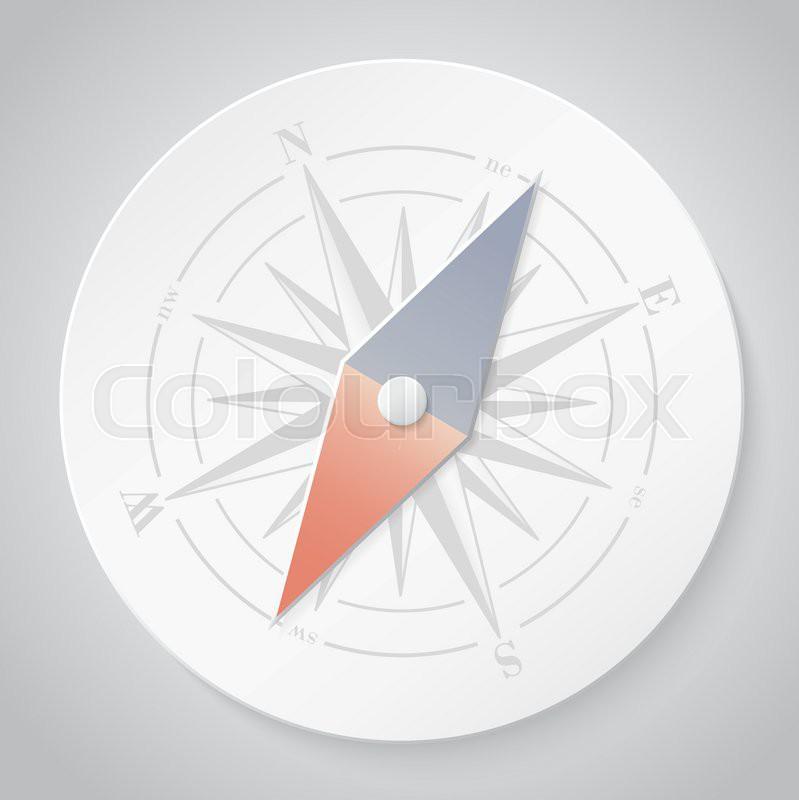 Как сделать компас из бумаги своими руками 2 класс