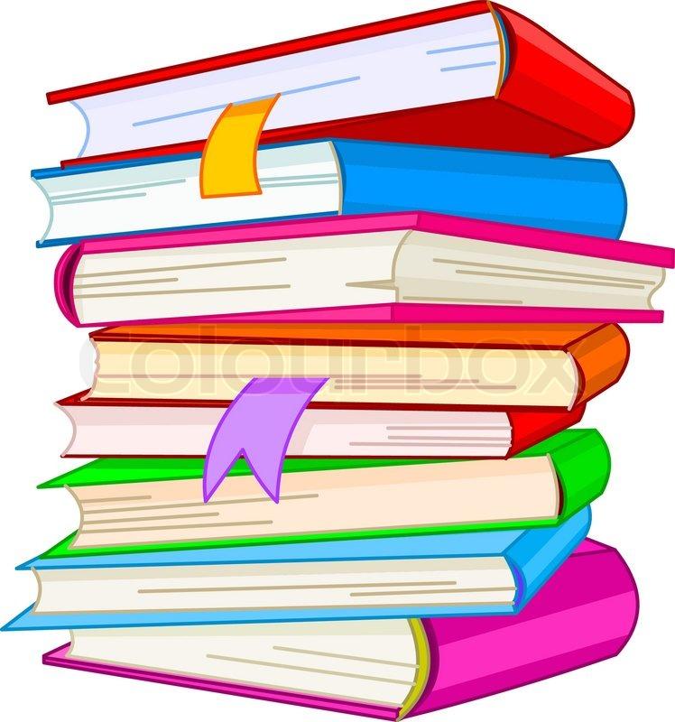 Bücherei clipart  Lernen, vogel, intelligenz | Vektorgrafik | Colourbox