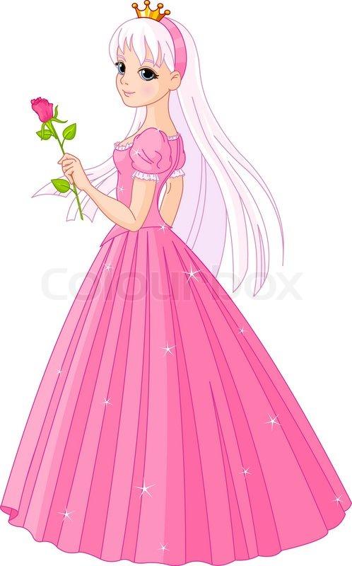 Stock vektor af 'prinsesse, eventyr, tegneserie'