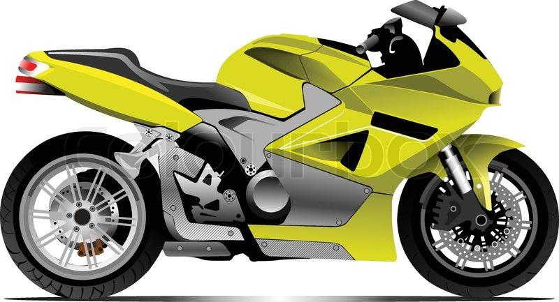 "Rally Motor Credit >> ""Bike image""   Stock Vector   Colourbox"