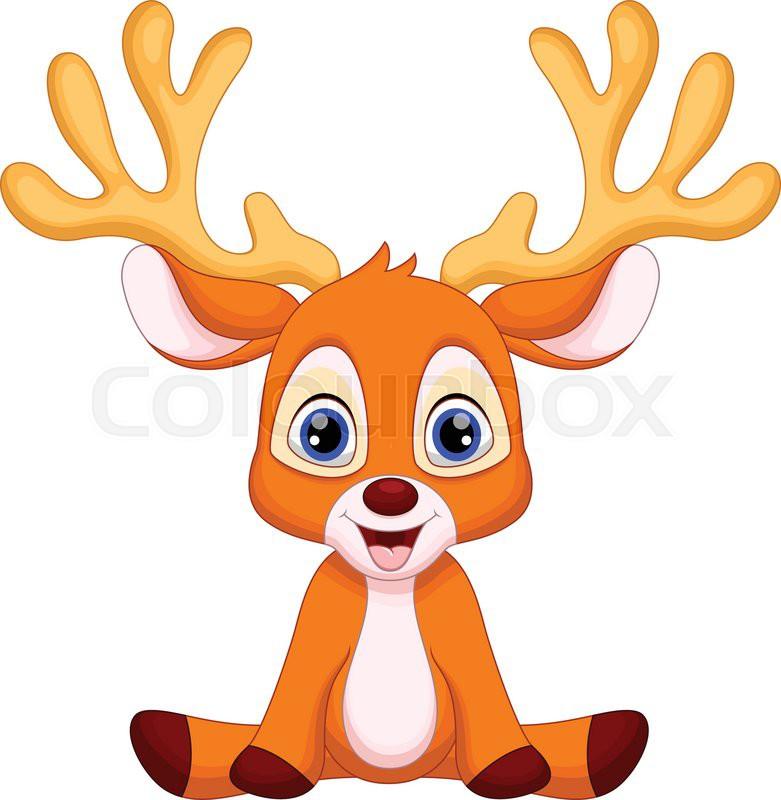 Image result for cartoon deer