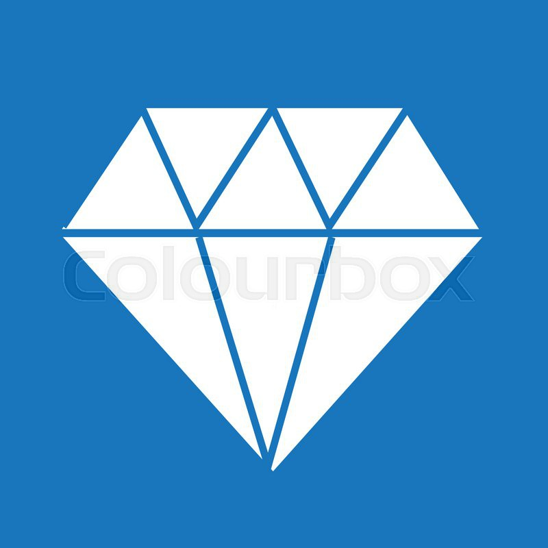 Diamond Icon Diamond Diamond Stock Vector Colourbox