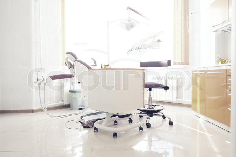 Dental clinic interior, stock photo