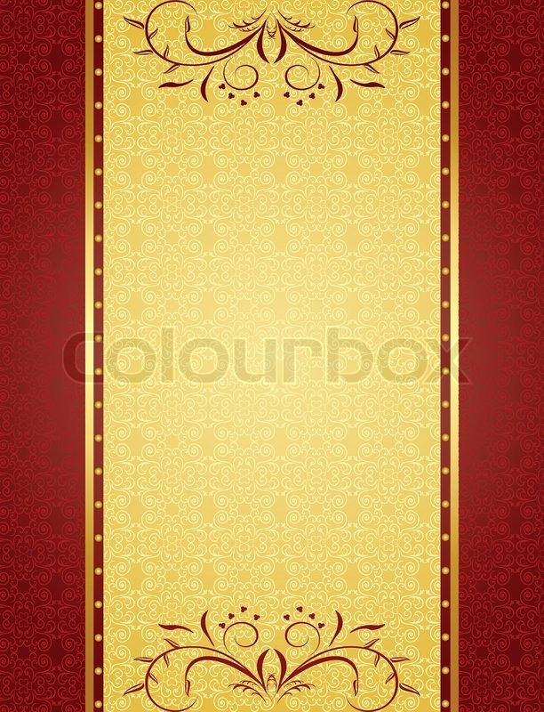 Gold background for design of cards and invitation vector stock gold background for design of cards and invitation vector vector stopboris Choice Image