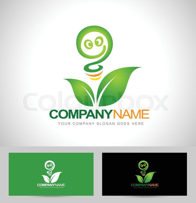 Green energy logo concept renewable energy logo design with green energy logo concept renewable energy logo design with business card template vector reheart Image collections