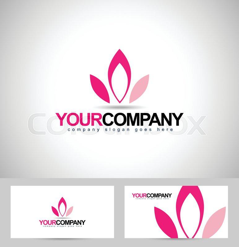 Lotus Logo Design. Flower logo concept. Creative flower petals ...