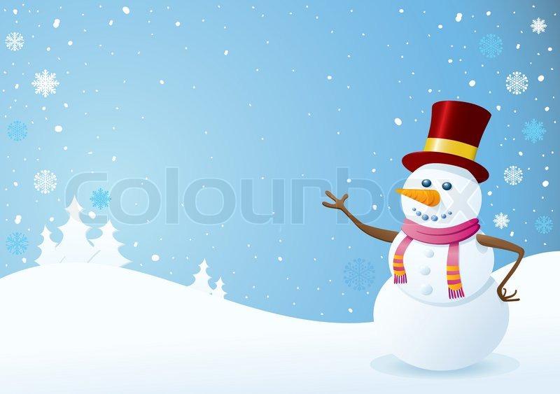 Winter Background Vector Free Vector Download 45 386 Free: Snowman, Invitation, Winter