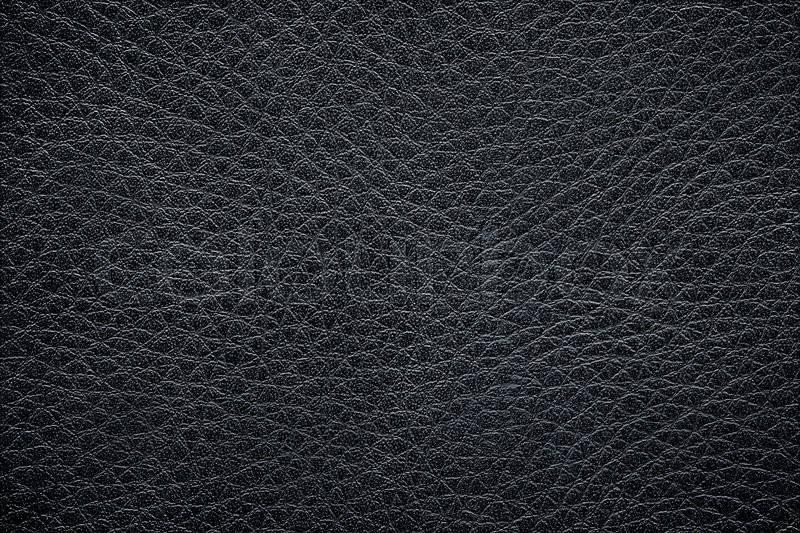 Black Leather Texture For Background Stock Photo Colourbox