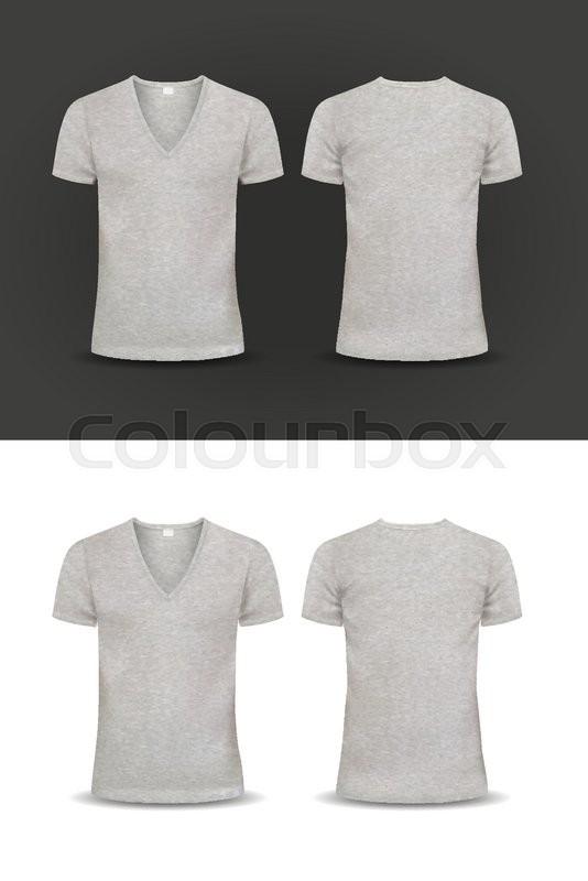 Vector t shirt design template women and men u neck shirt v neck stock vector of vector t shirt design template women and men u neck maxwellsz