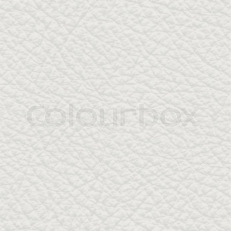 Seamless Light Leather Texture Detalised Vector Background