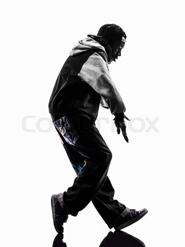 d9c8bc3ec One hip hop acrobatic break dancer ... | Stock image | Colourbox