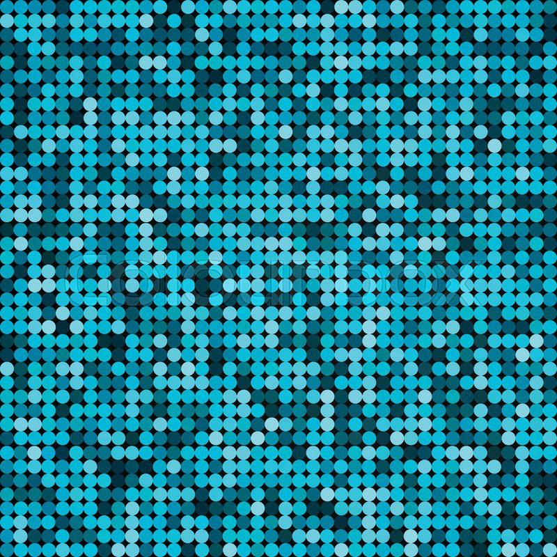Vector Silver Abstract Retro Vintage Pixel Mosaic