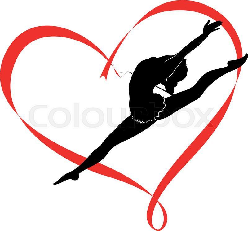 vault gymnastics silhouette. Gymnastics Logo, Vector Vault Silhouette T