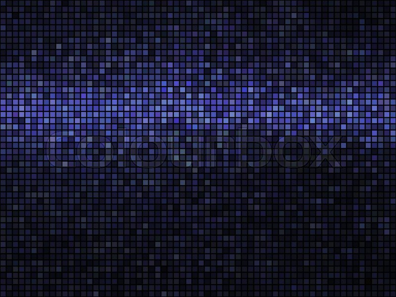 Abstract Mosaic Background Square Pixel Mosaic Lights