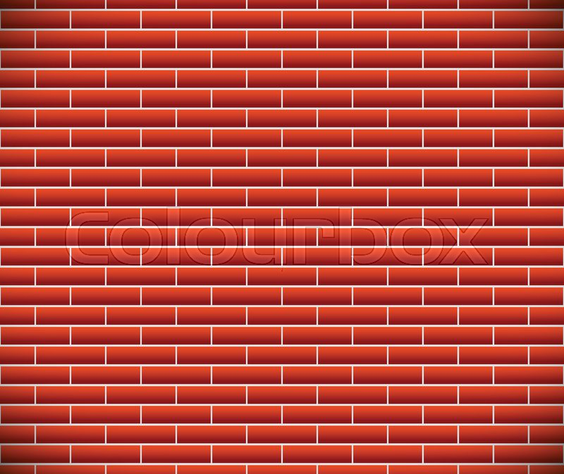 Seamless Pattern Of Dark Brickwork Brick Wall Repeatable Construction Revetment Firewall Texture Eps10 Vector Graphics