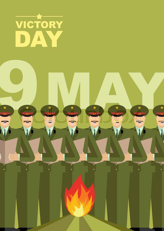 Дню рождения, открытка на английском языке с 9 мая