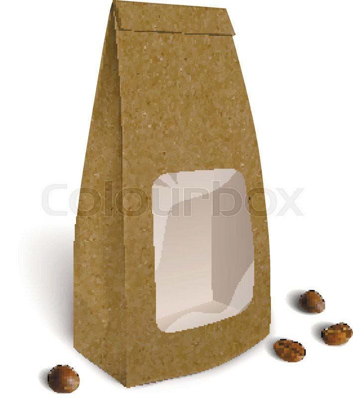 Mockup Foil Food Bag Package Of ...