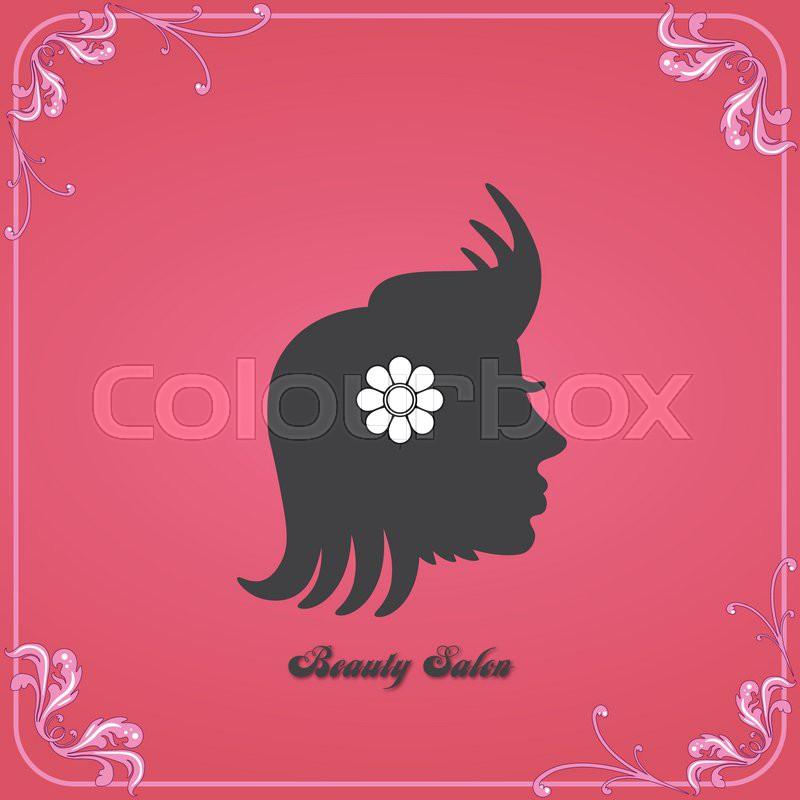 Beauty salon logo stock vector colourbox thecheapjerseys Gallery