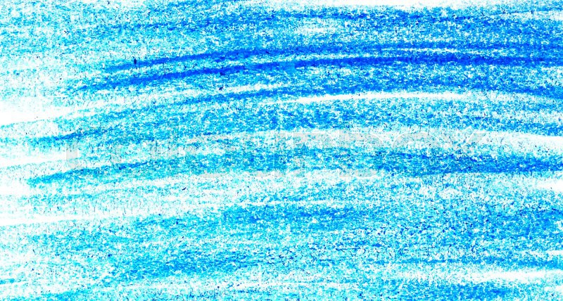 Blue color Crayon scribble background | Stock Photo