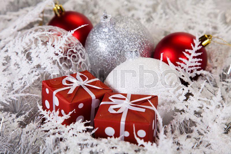 weihnachten pr sent geschenk stockfoto colourbox. Black Bedroom Furniture Sets. Home Design Ideas