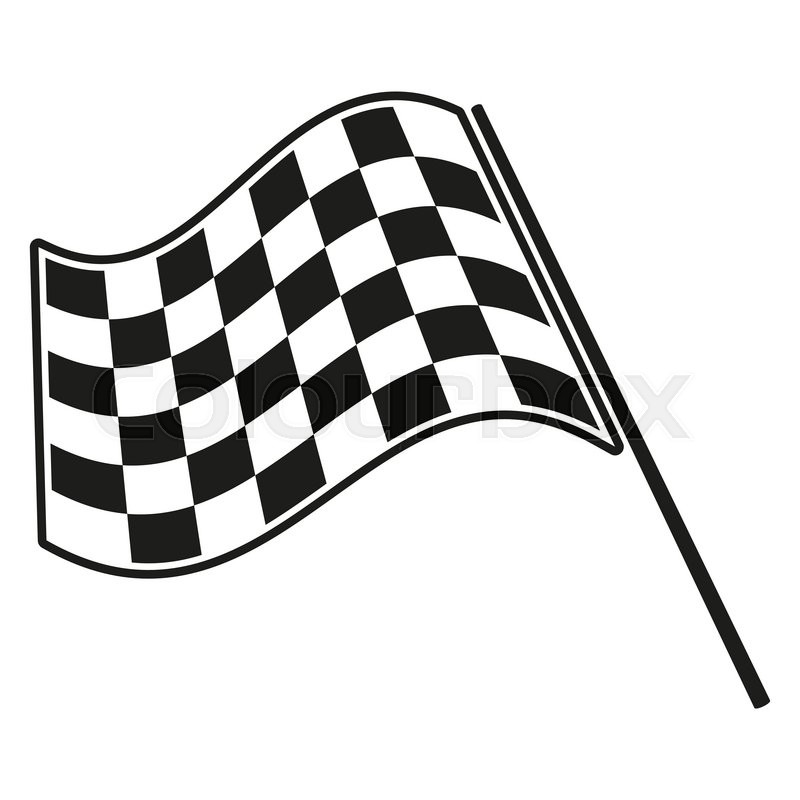 checkered flag racing stock vector illustration clip art stock rh colourbox com racing flags vector art free racing flag vector eps