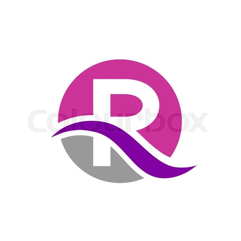 Letter r logo design stock vector colourbox altavistaventures Image collections