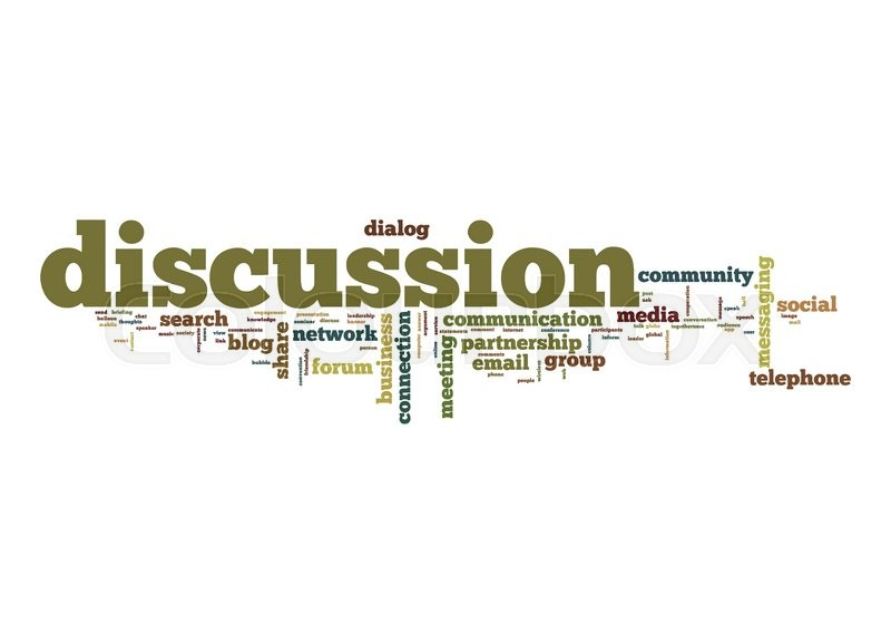 discussion word cloud stock photo colourbox