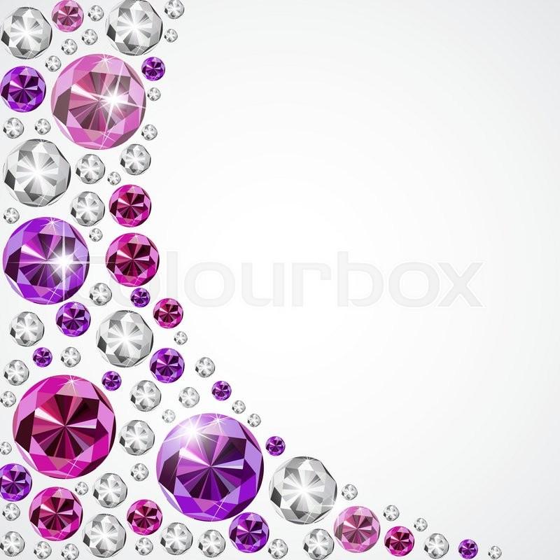 Abstract Luxury Diamond Background     | Stock vector | Colourbox