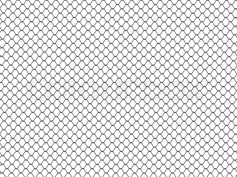 Steel Wire Mesh Background, 3d illustration on white | Stock Photo ...