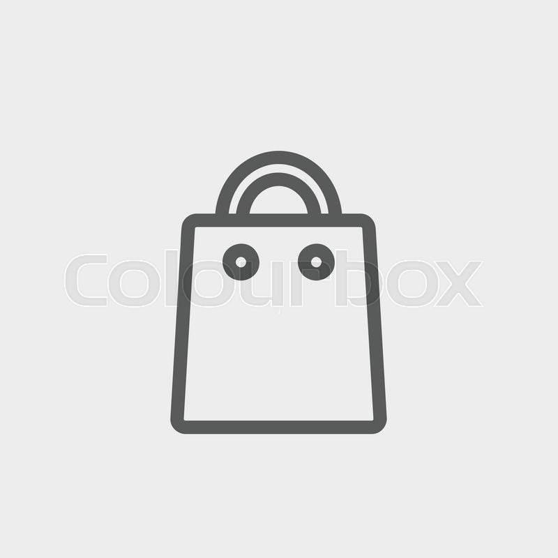 google white shopping bag icon crazycrise