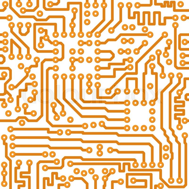 seamless square texture the vector electronic printed circuit rh colourbox com circuit board vector pattern circuit board vector background