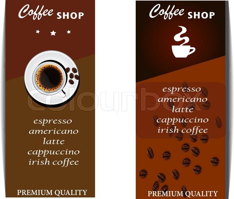 The Coffee Shop Menu Template Design
