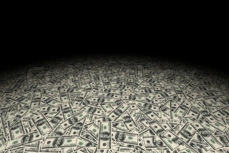 Usa Dollars Money Background Financial Concept Stock