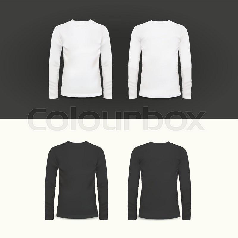 Vector Tshirt Polo Shirt And Sweatshirt Design Template Vector - Sweatshirt design template