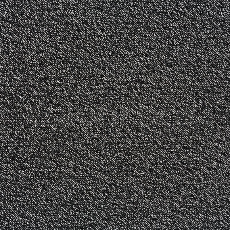 Close Up Black Color Rough Plastic Texture Stock Photo