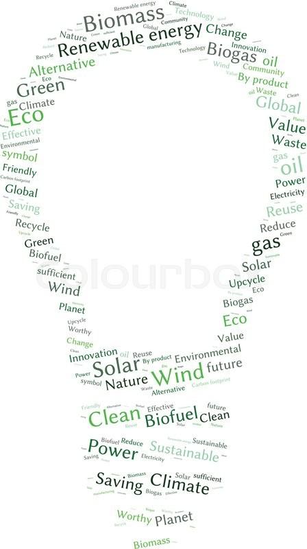 Ecology earth concept word collage environmental poster design environmental poster design template stock vector colourbox maxwellsz