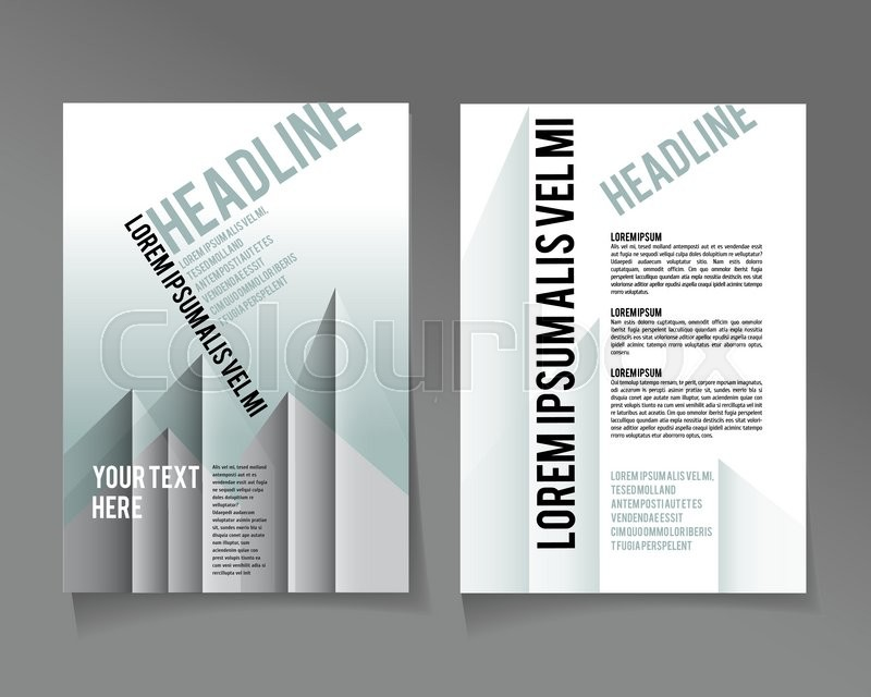 Editable A4 poster in silver urban style for design presentation ...