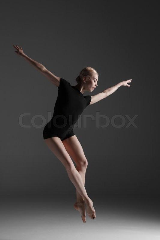 Tanz performer ballerina stockfoto colourbox for Bild ballerina