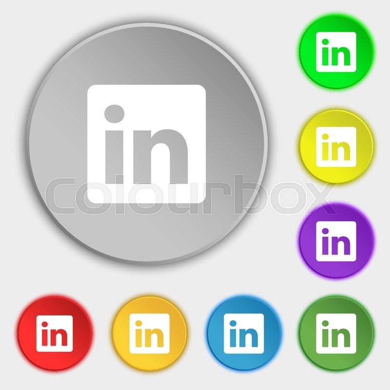 Kiev Ukraine June 21 2015 Linkedin Is A Business Oriented