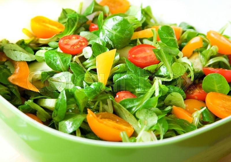 Овощные салаты для похудения: рецепты и принципы
