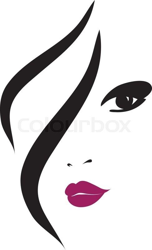 Fashion Woman Silhouette , Vector ...