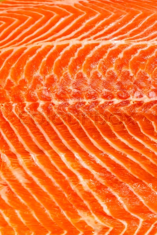 Salmon Natural Meat Color